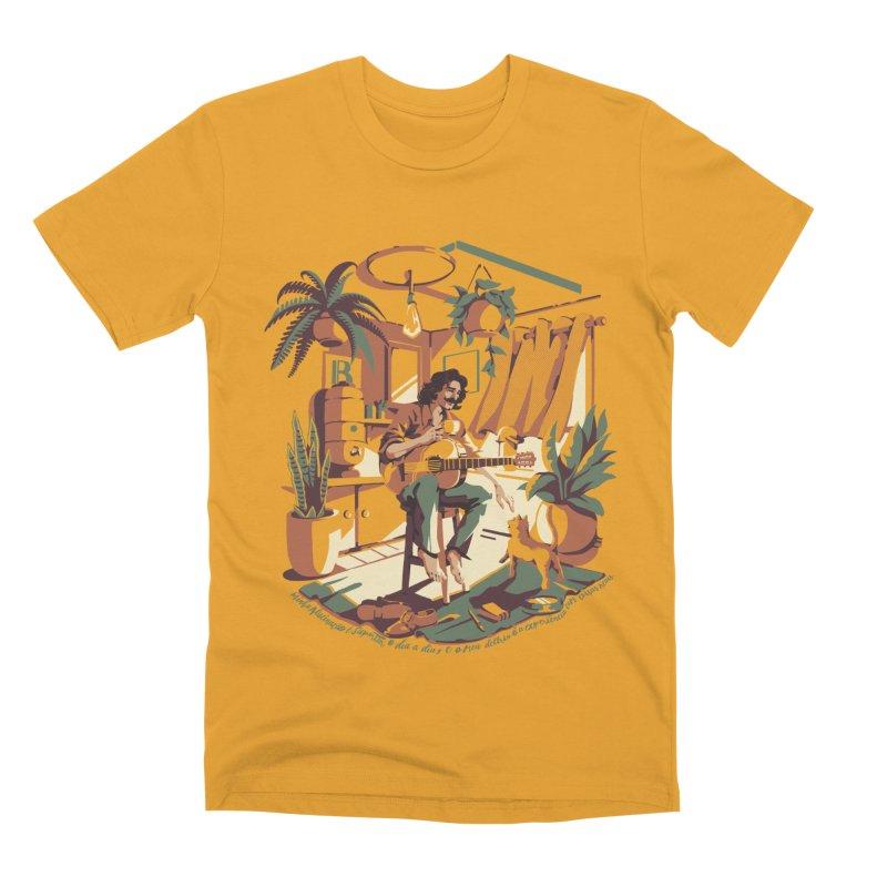 Rapaz latino Americano Men's Premium T-Shirt by ilustrata