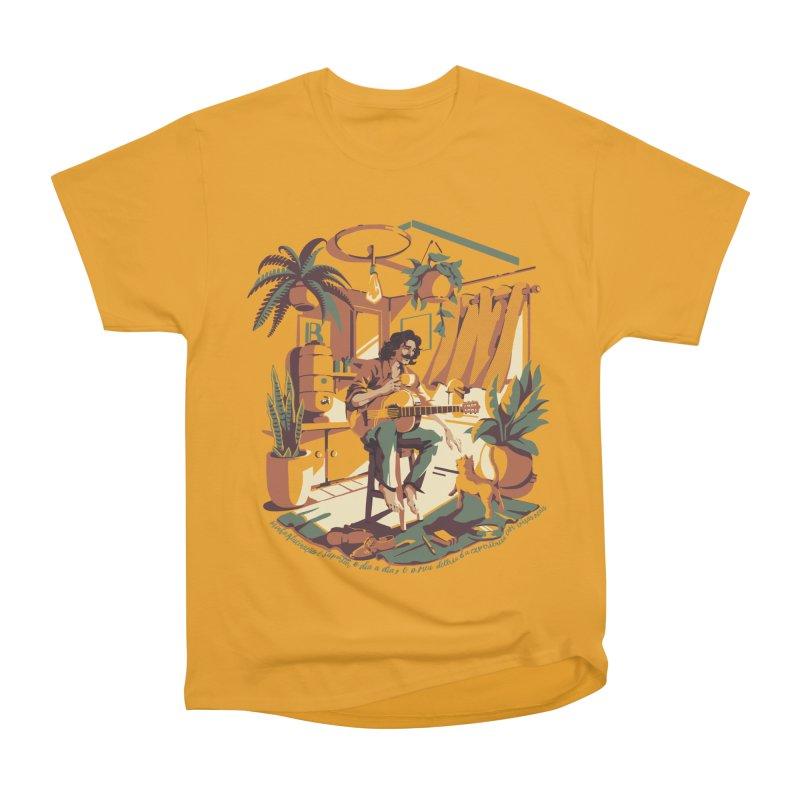 Rapaz latino Americano Men's Heavyweight T-Shirt by ilustrata