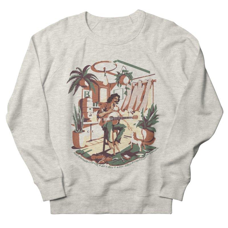 Rapaz latino Americano Women's French Terry Sweatshirt by ilustrata