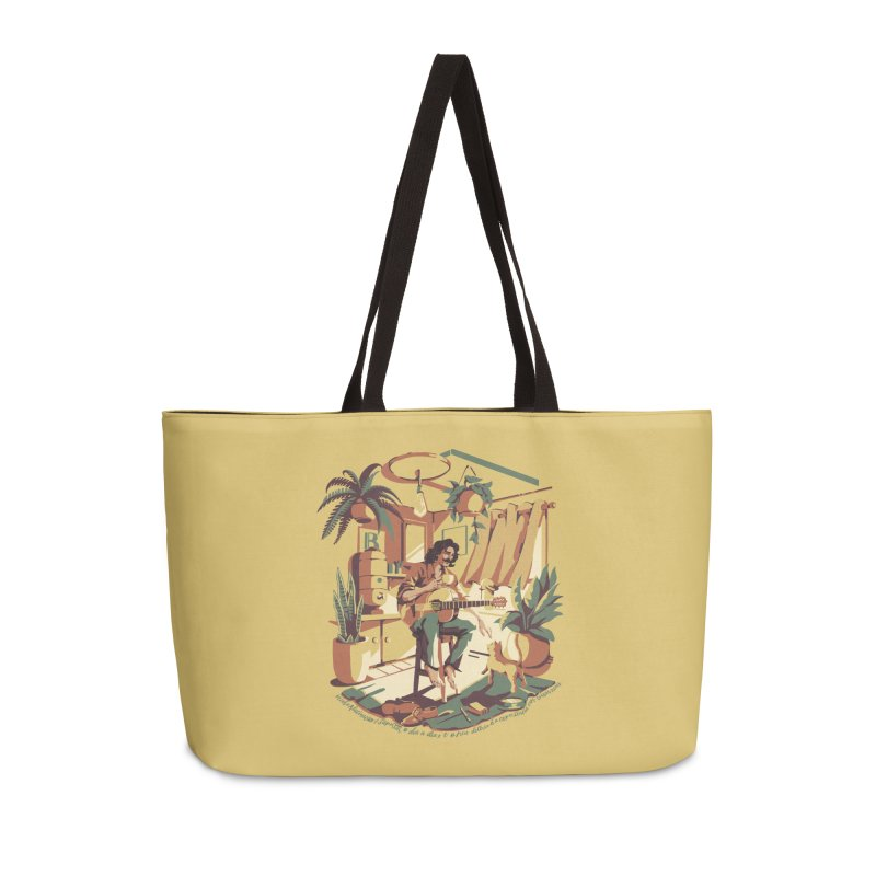 Rapaz latino Americano Accessories Weekender Bag Bag by ilustrata