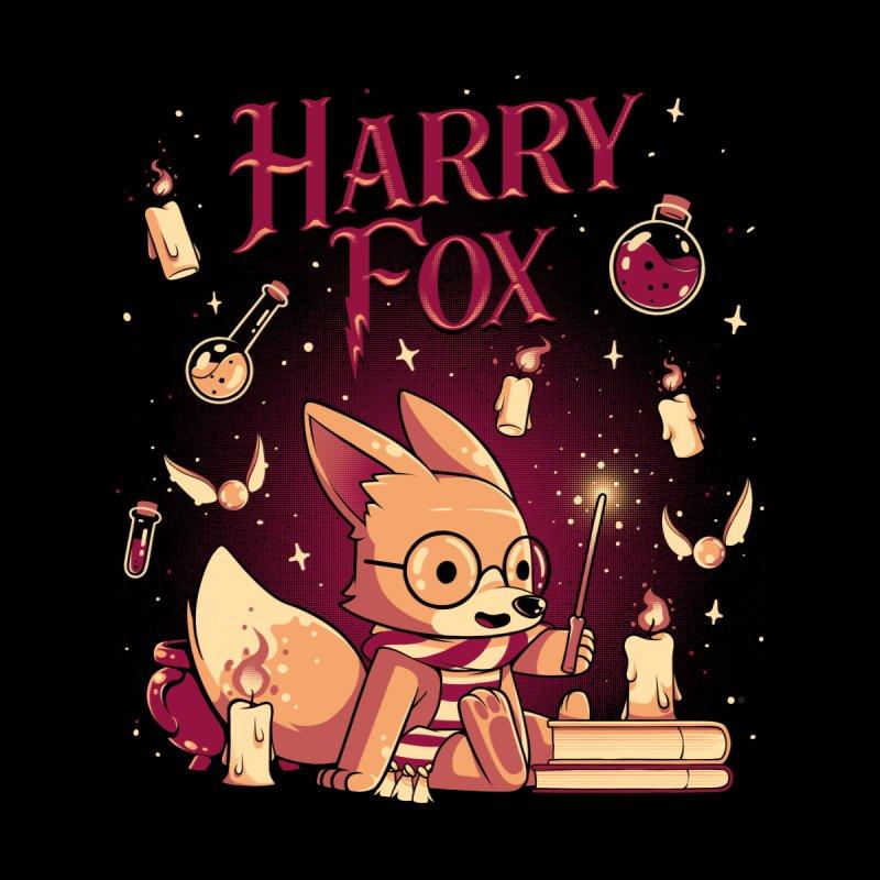 Harry Fox Men's T-Shirt by ilustrata