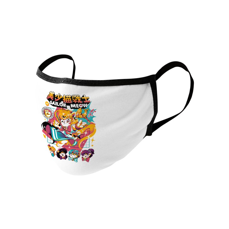 Sailor Meow Accessories Face Mask by ilustrata