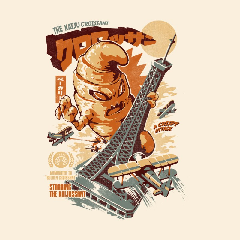 The Kaijussant Men's T-Shirt by ilustrata