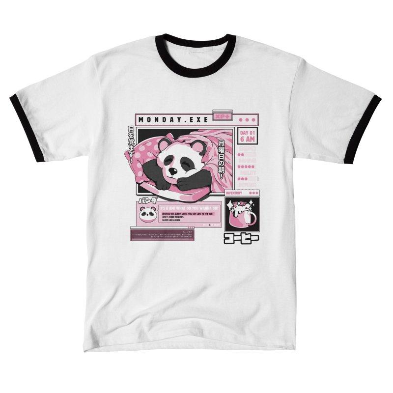 Monday.exe Men's T-Shirt by ilustrata