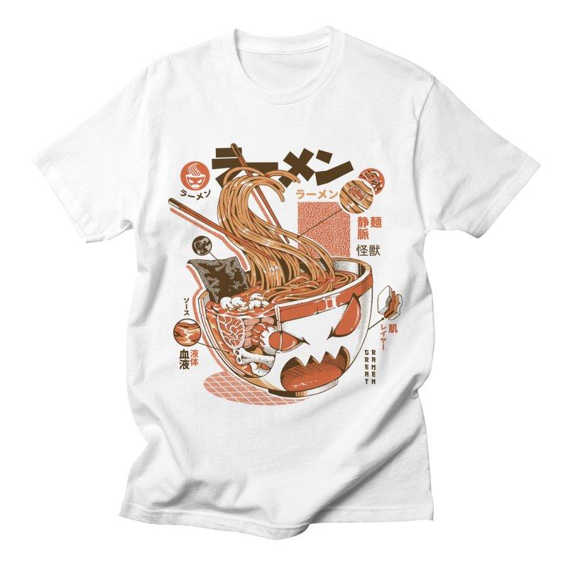 X-ray Great Ramen! Men's T-Shirt by ilustrata