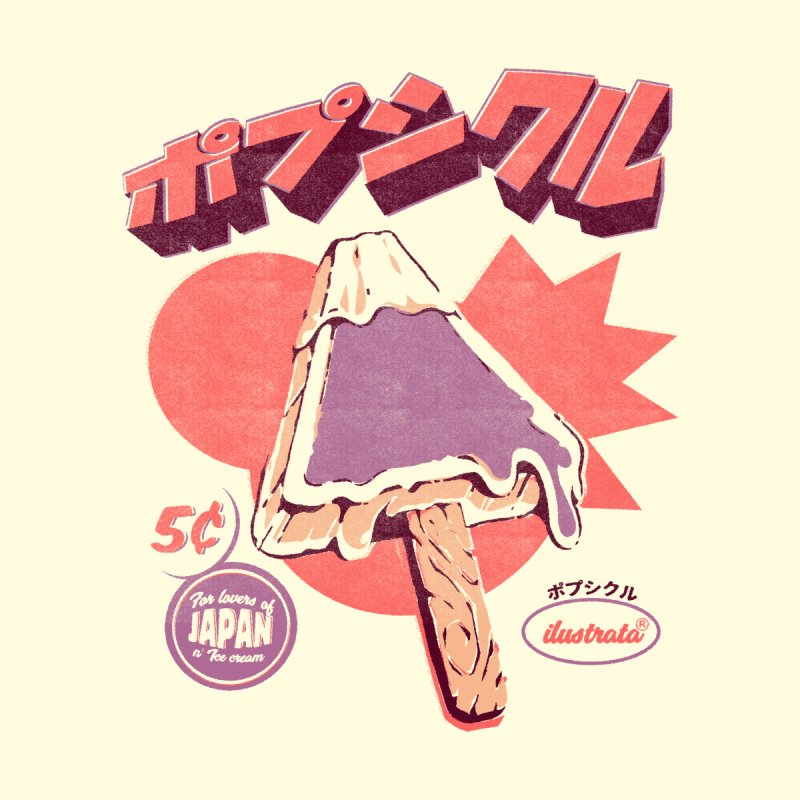 Fuji Ice Pop Men's T-Shirt by ilustrata