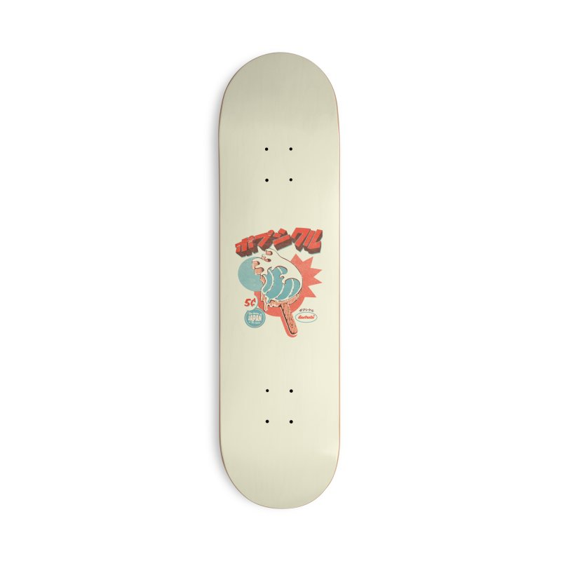 Great Wave Ice Pop Accessories Skateboard by ilustrata