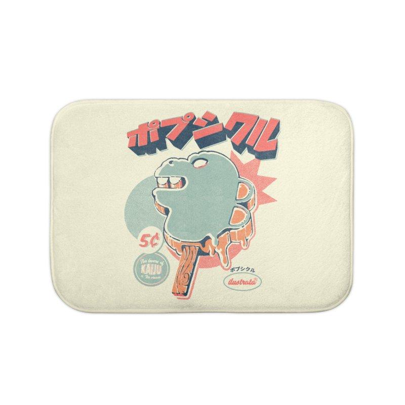 Kaiju Ice pop Home Bath Mat by ilustrata