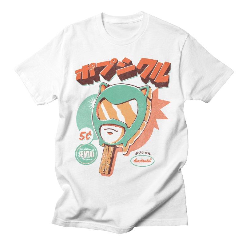 Sentai Ice Pop Men's T-Shirt by ilustrata