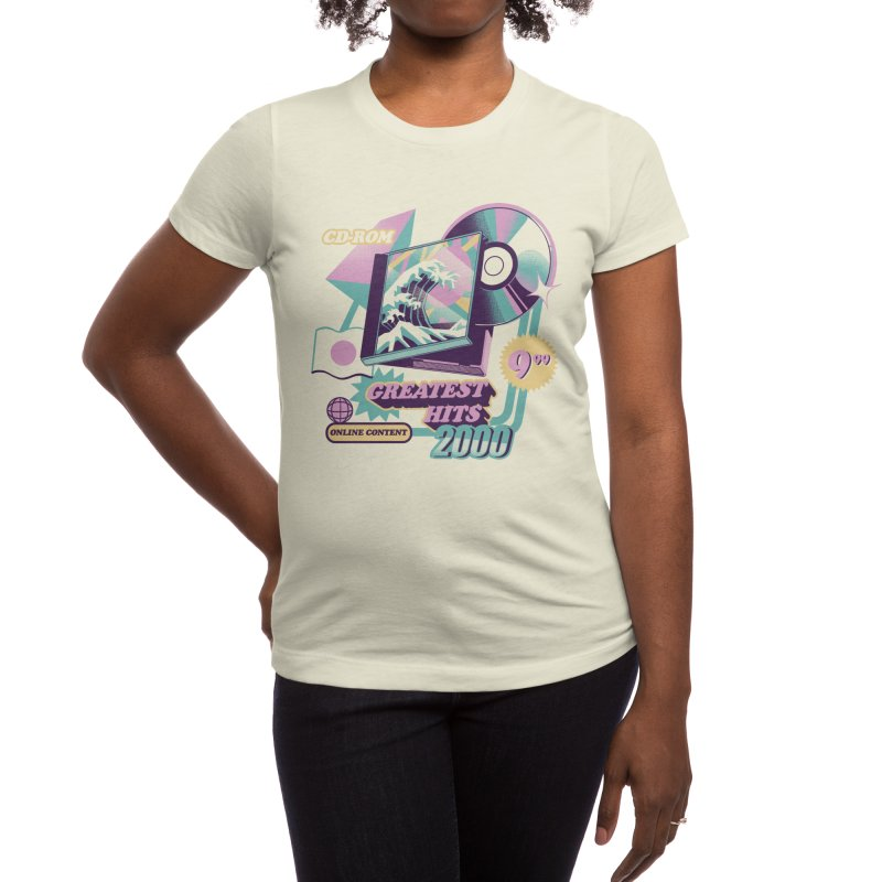 Japanese Greatest Hits Women's T-Shirt by ilustrata