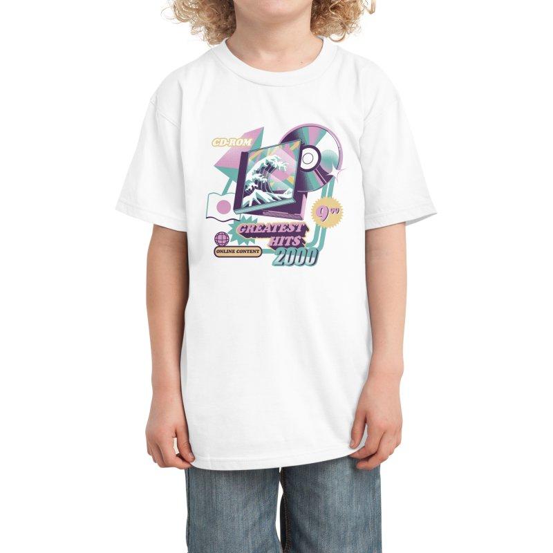 Japanese Greatest Hits Kids T-Shirt by ilustrata