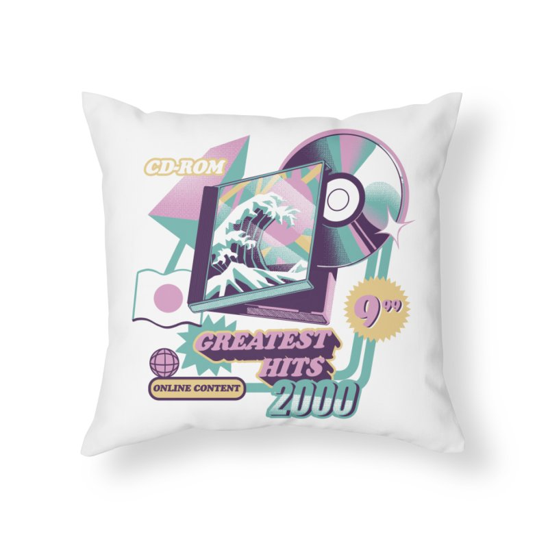 Japanese Greatest Hits Home Throw Pillow by ilustrata