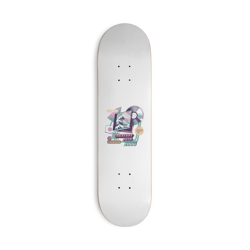 Japanese Greatest Hits Accessories Skateboard by ilustrata