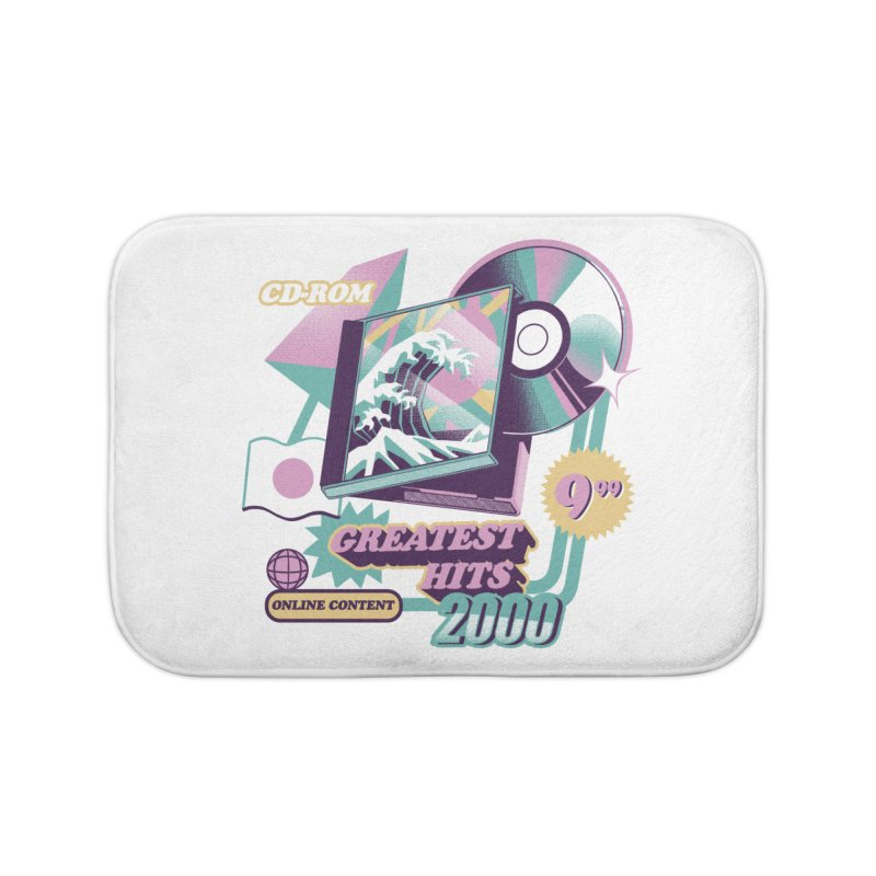 Japanese Greatest Hits Home Bath Mat by ilustrata