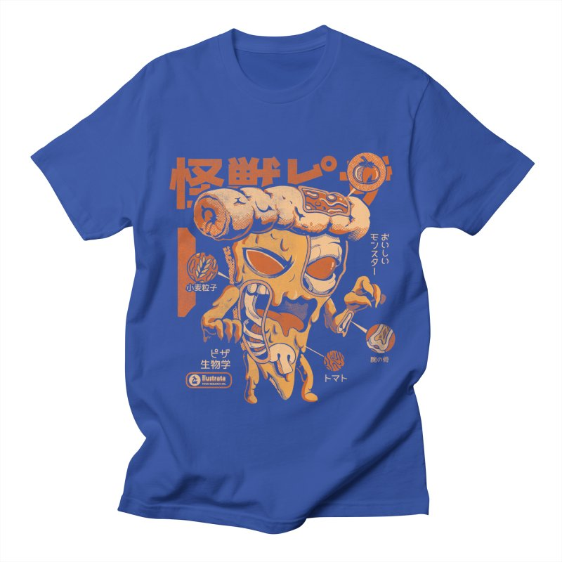 Pizzazilla X-ray Men's T-Shirt by ilustrata