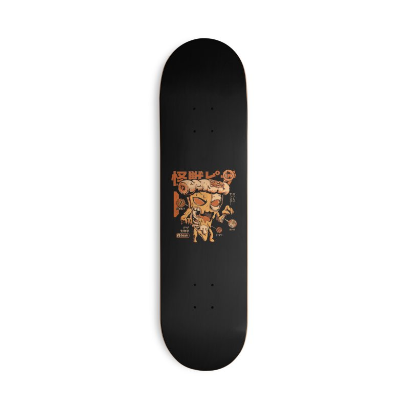 Pizzazilla X-ray Accessories Skateboard by ilustrata