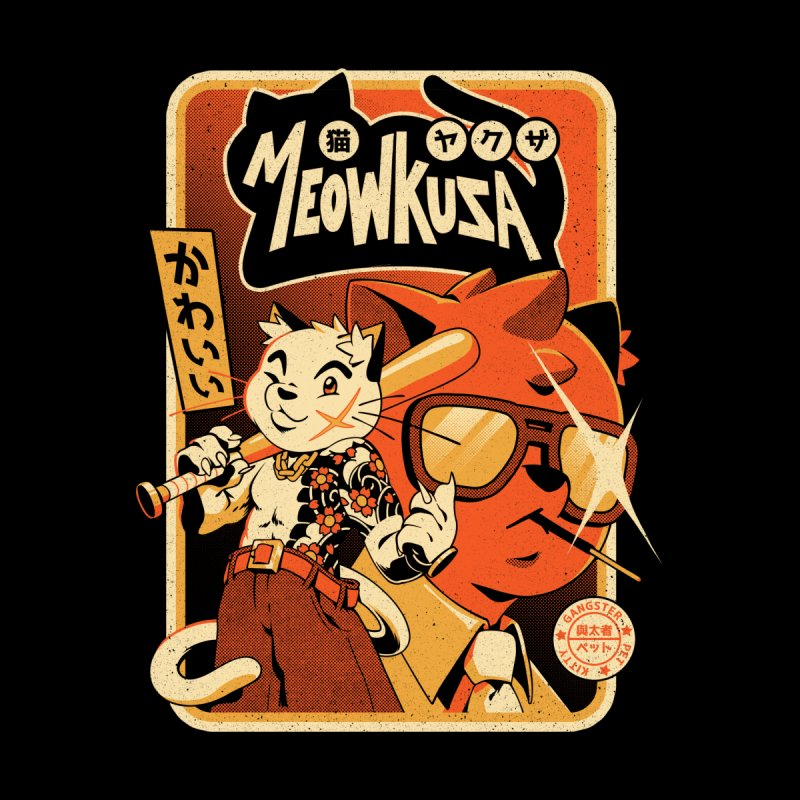 Meowkuza Women's T-Shirt by ilustrata