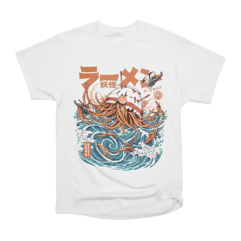 Dark Great Ramen off Kanagawa Women's T-Shirt by ilustrata