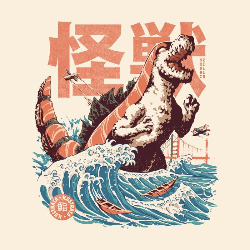 Sushizilla Men's T-Shirt by ilustrata