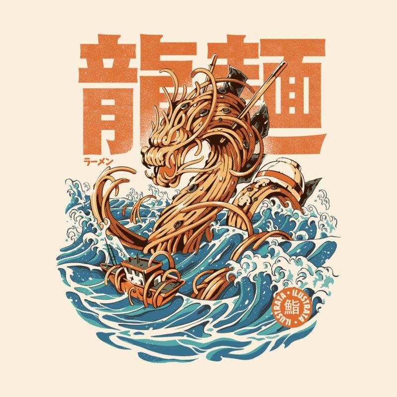 Great Ramen Dragon off Kanagawa Men's T-Shirt by ilustrata
