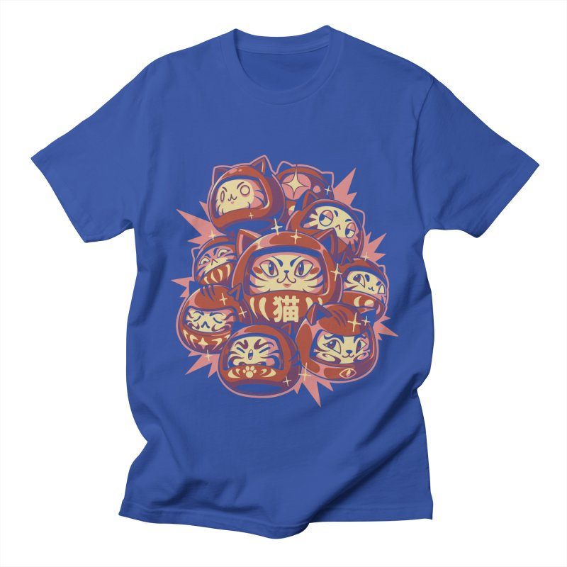Daruma Cats Men's T-Shirt by ilustrata