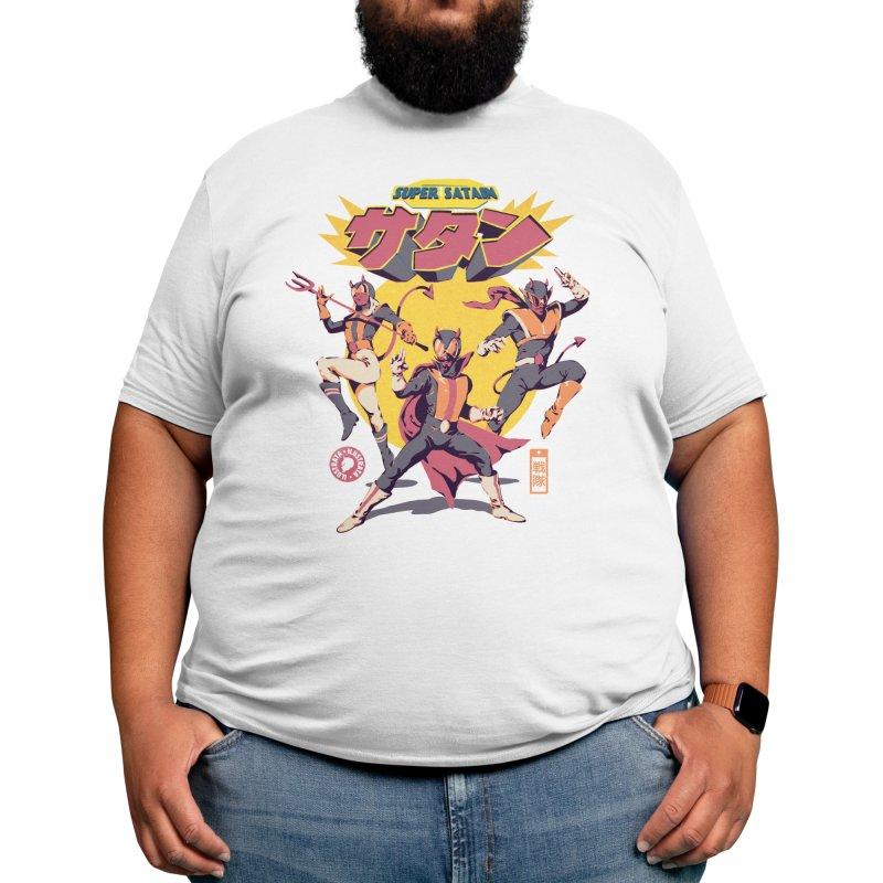Super 'Satain' Squad Men's T-Shirt by ilustrata