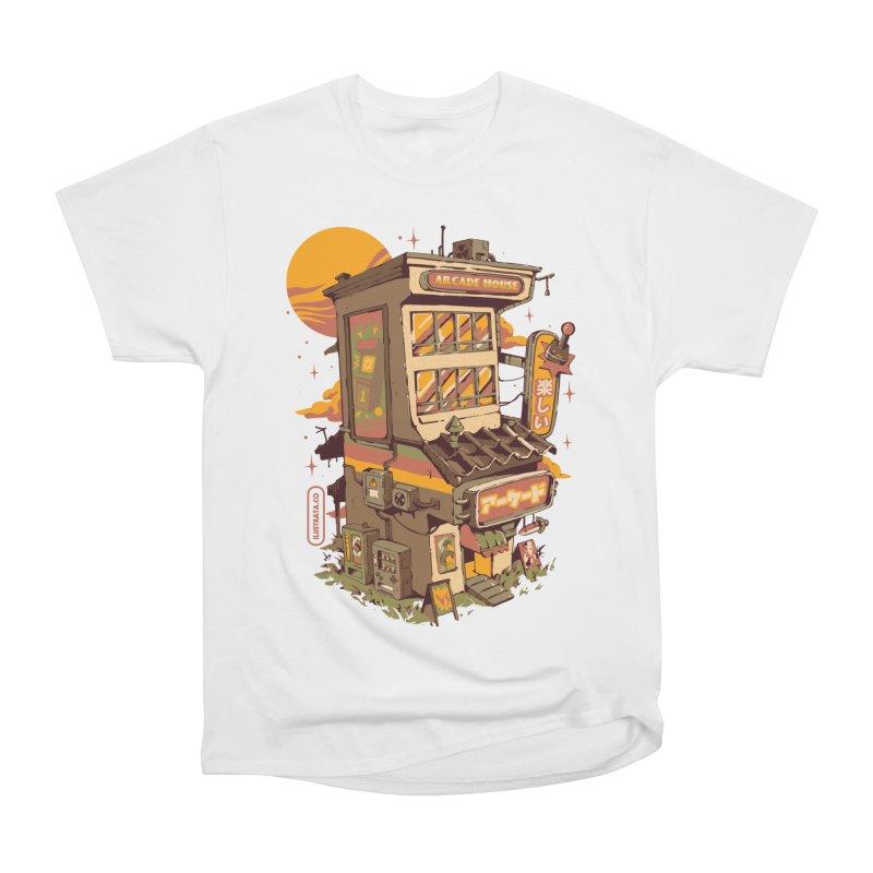 Arcade House Women's T-Shirt by ilustrata