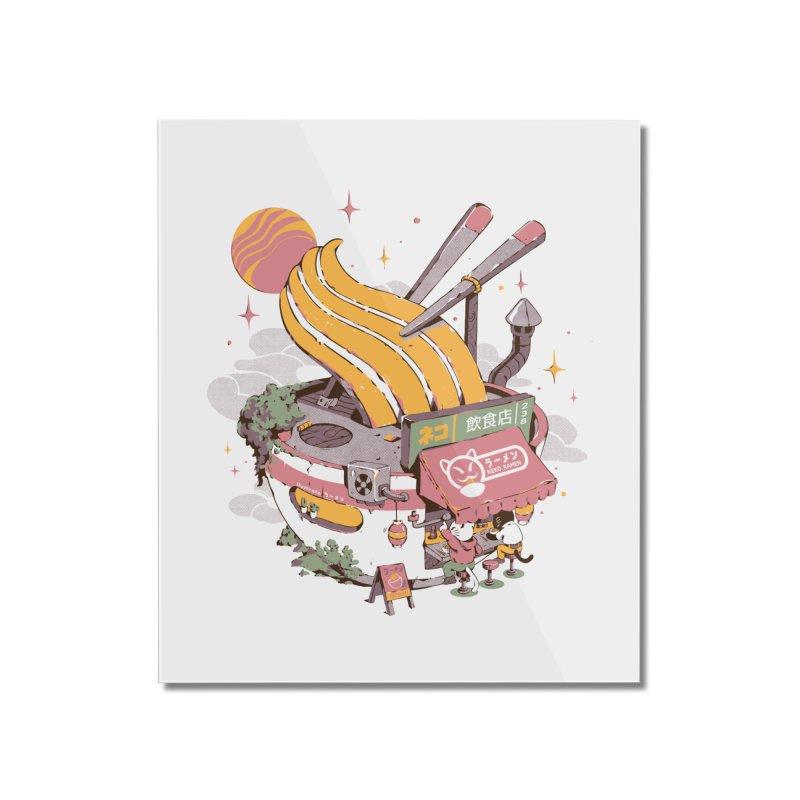 Ramen Bowl Restaurant Home Mounted Acrylic Print by ilustrata