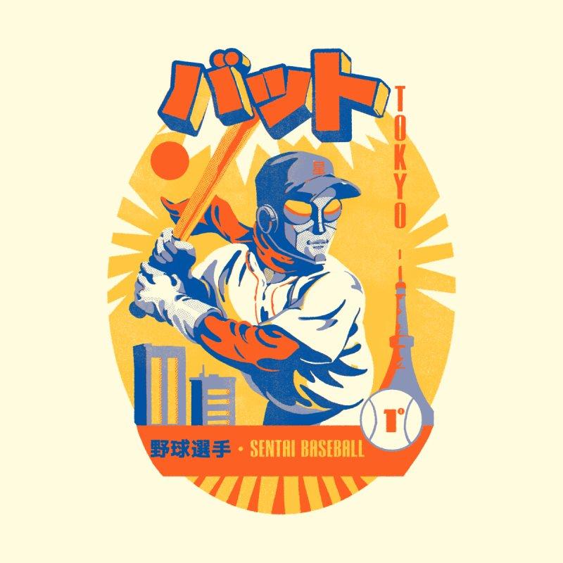 Sentai Baseball League Women's Pullover Hoody by ilustrata