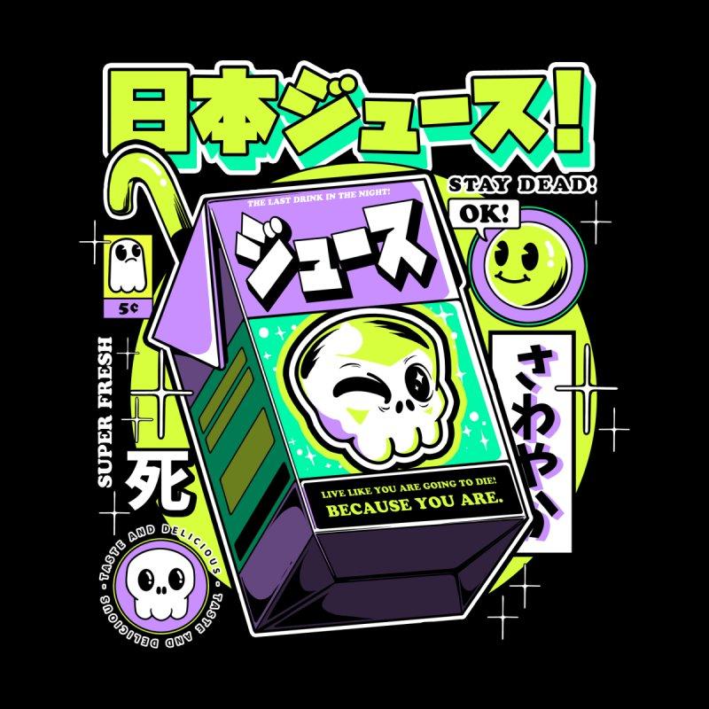 Japanese Juice Accessories Skateboard by ilustrata