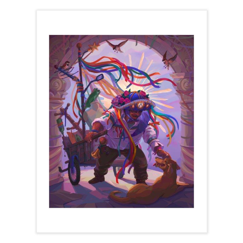 Brazilian Sancho Panza Home Fine Art Print by ilustrata