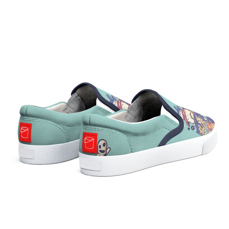 Creatures Spirits and friends Men's Shoes by ilustrata