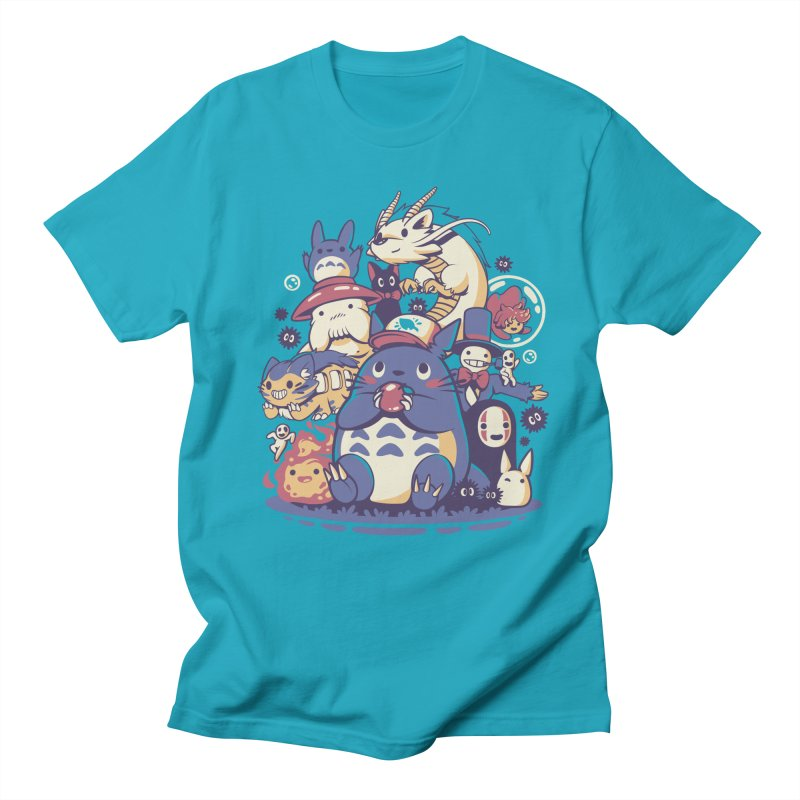 Creatures Spirits and friends Men's T-Shirt by ilustrata