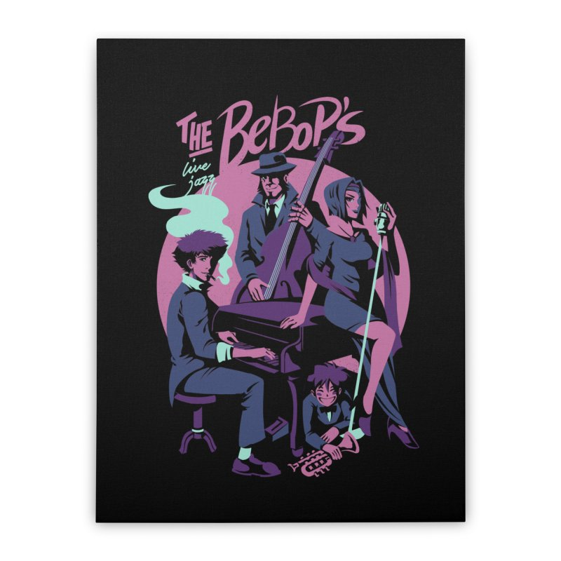 The Bebop's Home Stretched Canvas by ilustrata