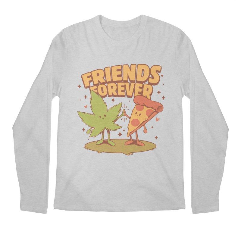 Cute Friends Men's Longsleeve T-Shirt by ilustrata