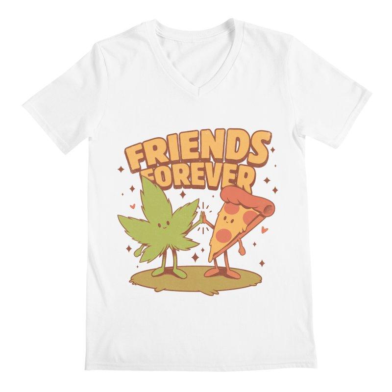 Cute Friends Men's V-Neck by ilustrata