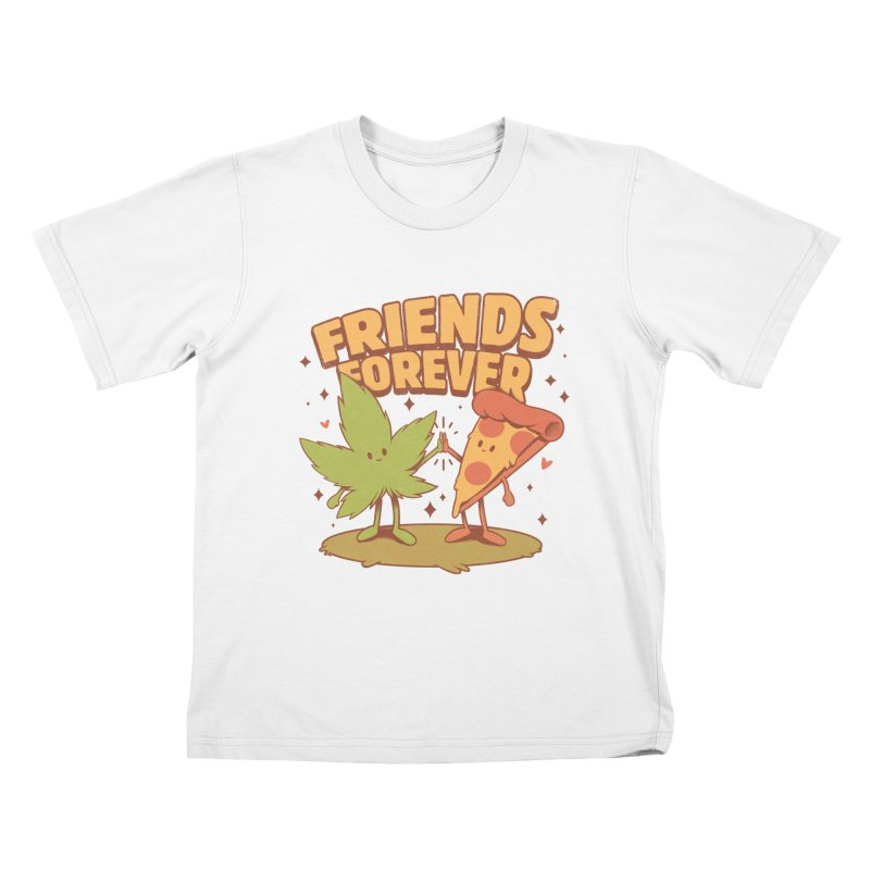 Cute Friends Kids T-Shirt by ilustrata