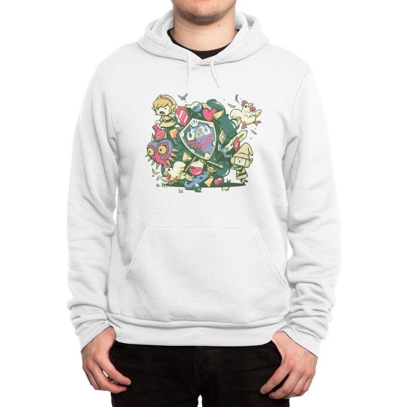 Let's Roll Link Men's Pullover Hoody by ilustrata