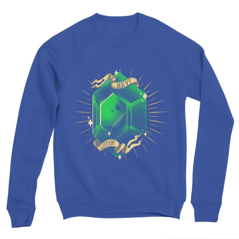 Stay Rupees Men's Sponge Fleece Sweatshirt by ilustrata