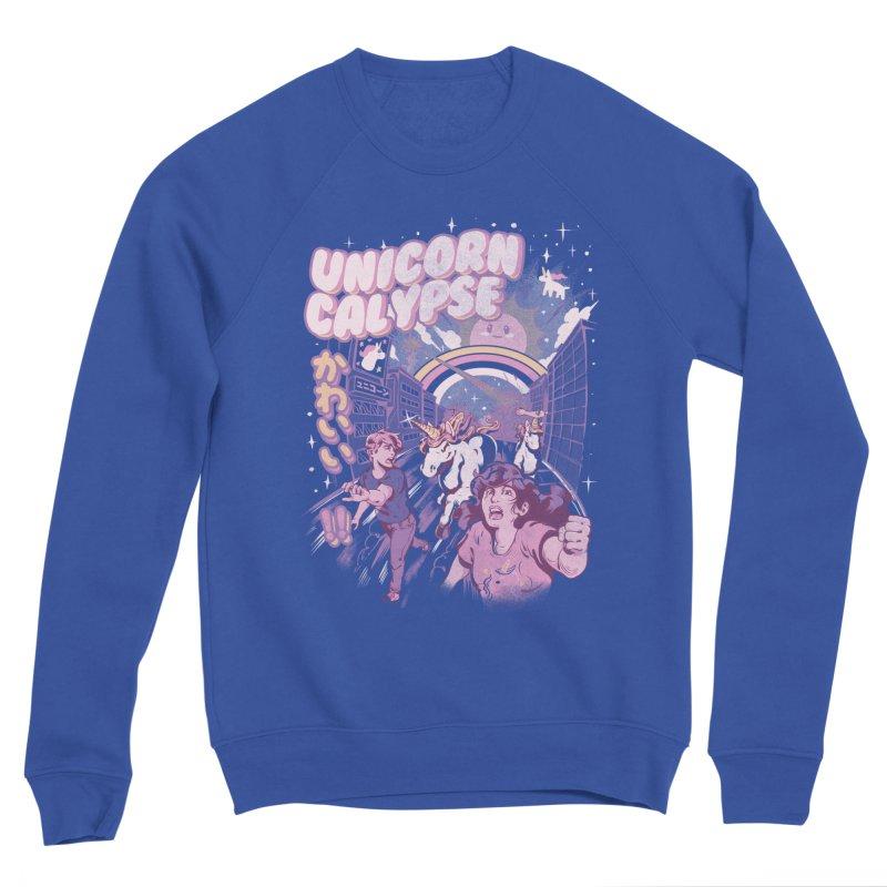 Unicorn Calypse Men's Sponge Fleece Sweatshirt by ilustrata