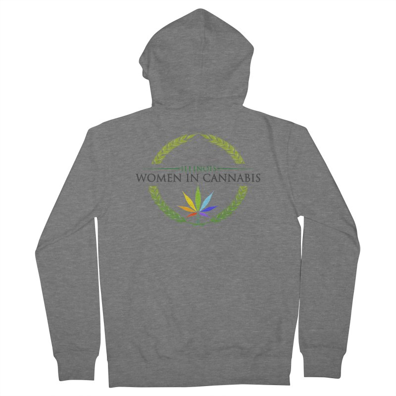 IWC PRIDE Women's Zip-Up Hoody by Illinois Women in Cannabis