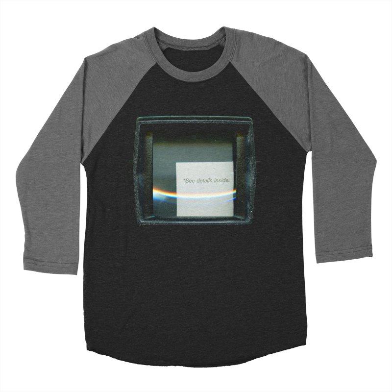 Asterisk Women's Baseball Triblend T-Shirt by ilyya's Artist Shop