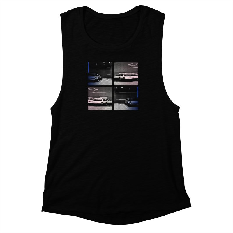 After I parked I. Women's Muscle Tank by ilyya's Artist Shop