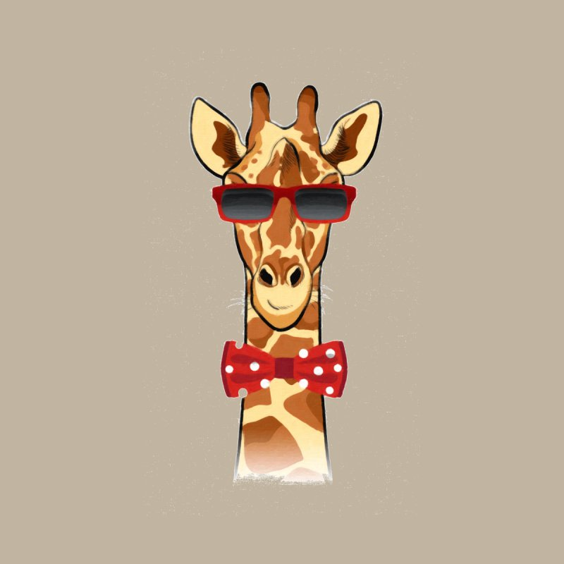 Hipster Giraffe by Laurent's Shop