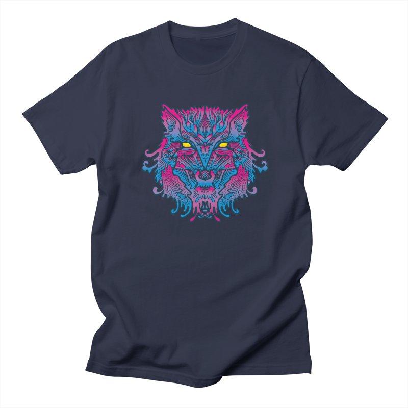 Batik Srigala B-CODE Men's T-Shirt by Imagi Factory