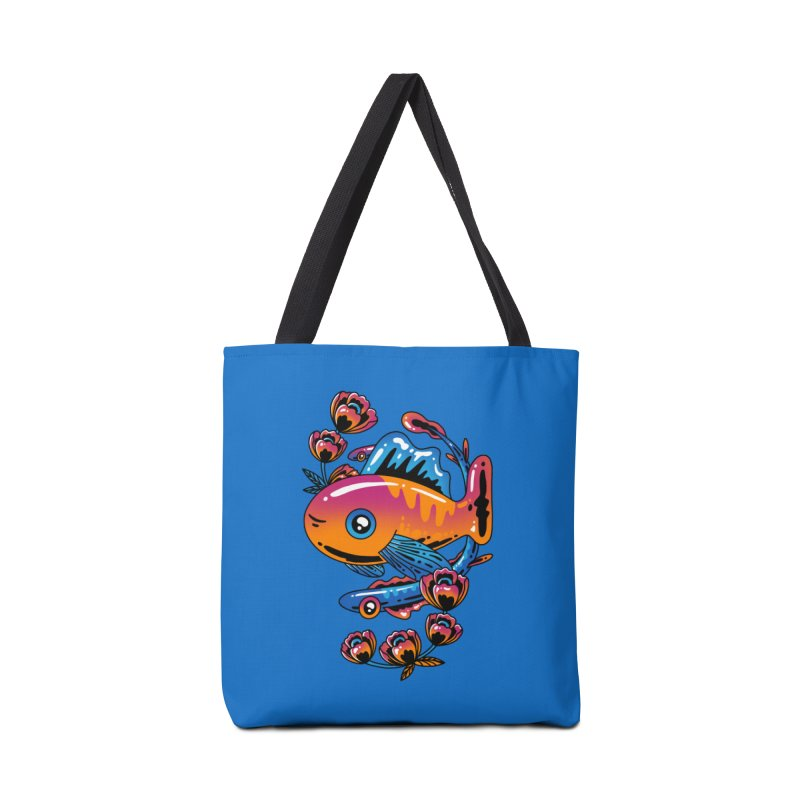 Fish in Color Accessories Bag by Imagi Factory
