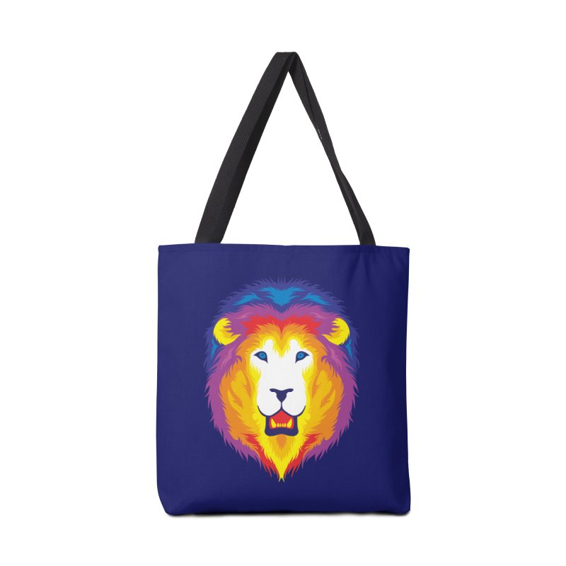 Lion in Color Accessories Bag by Imagi Factory