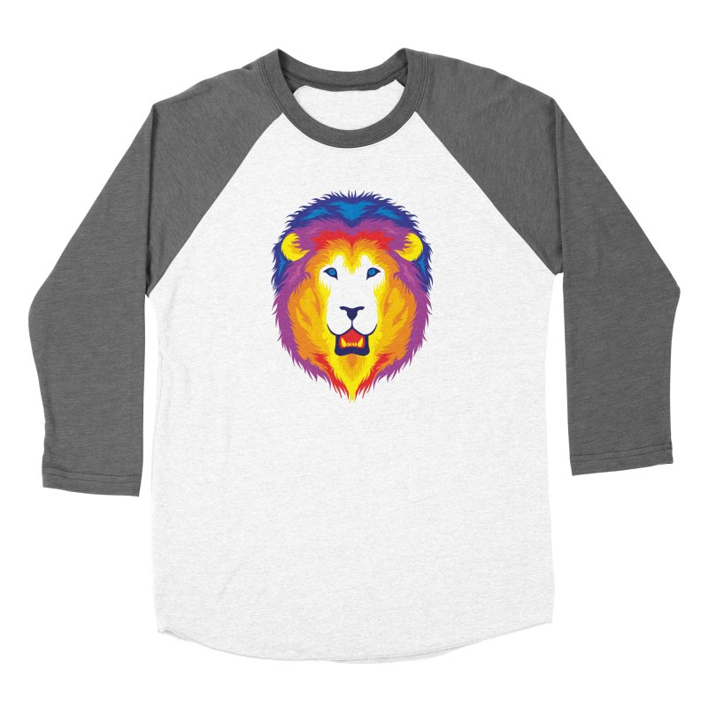 Lion in Color Women's Longsleeve T-Shirt by Imagi Factory
