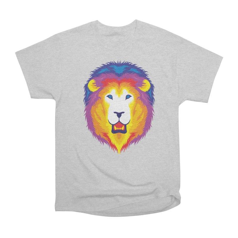 Lion in Color Men's T-Shirt by Imagi Factory