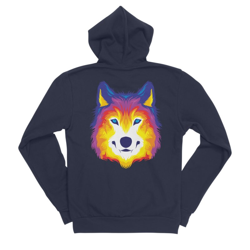 Wolf in color Kids T-Shirt by